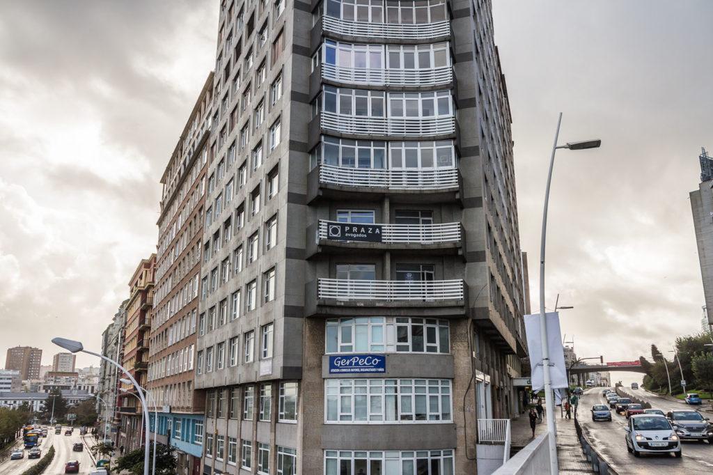 Praza Avogados A Coruña Exterior