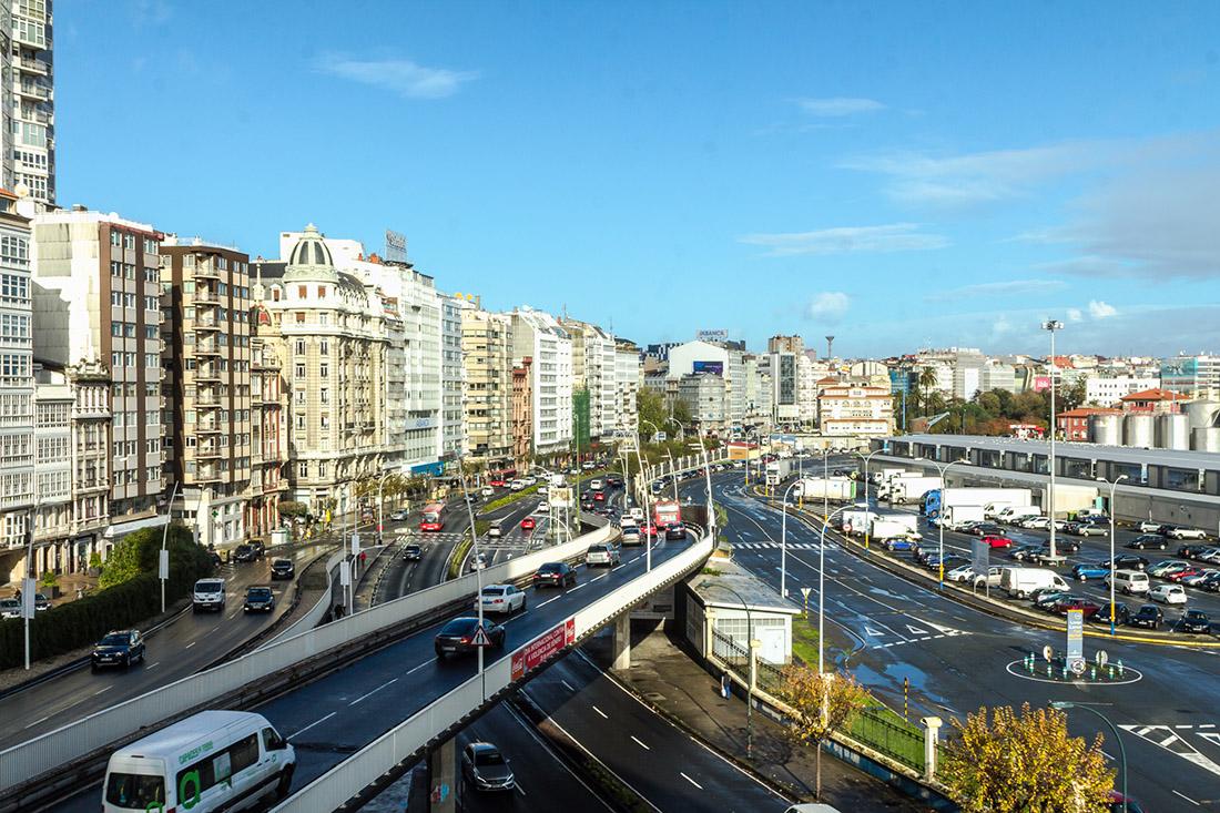 Praza Avogados A Coruña